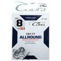 Крючки Cobra ALLROUND CA117-8, 10 шт.