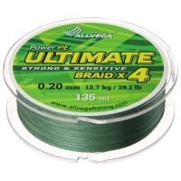 Леска плетёная Allvega Ultimate тёмно-зелёная 0.20, 135 м